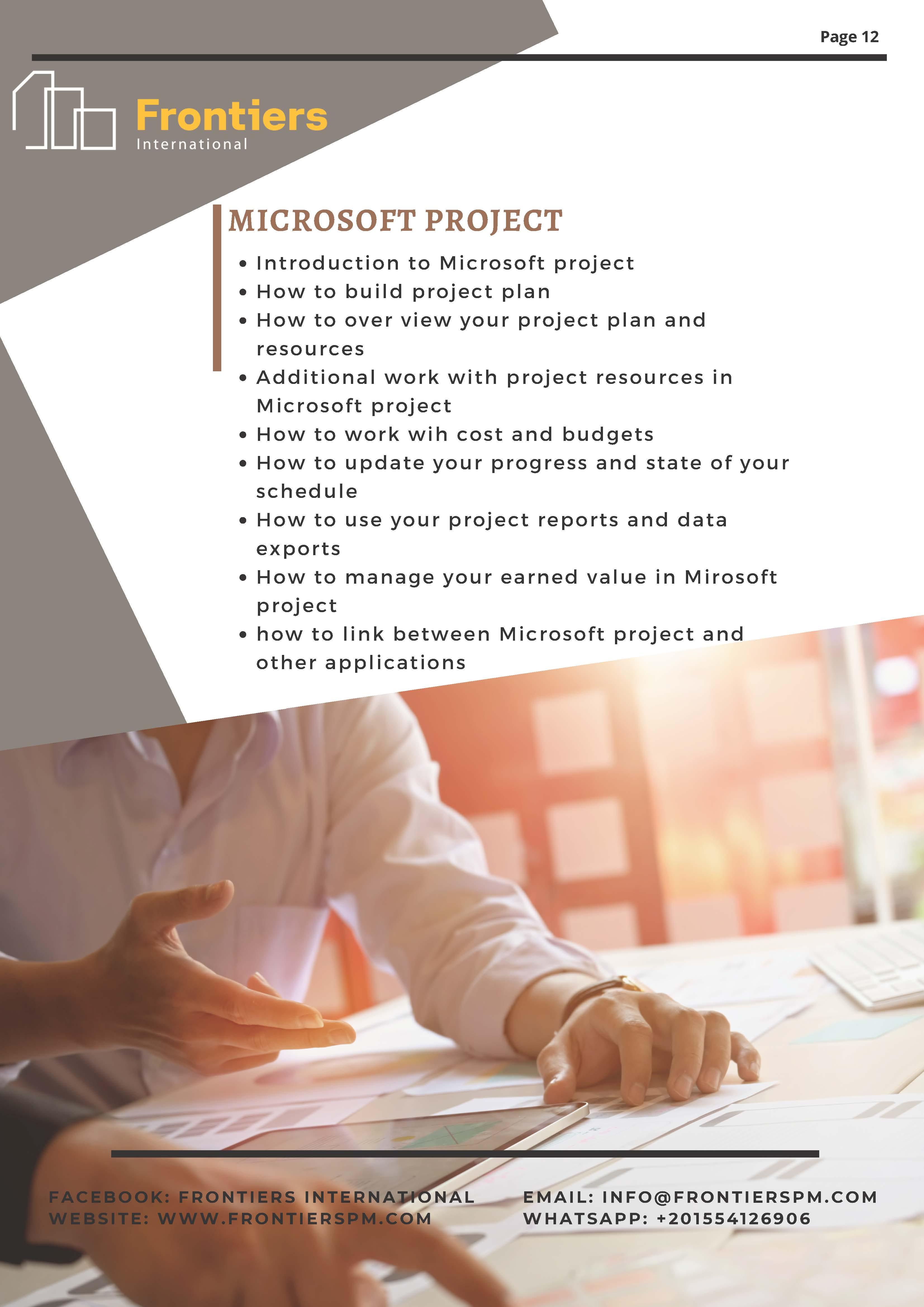 Micrososoft Project